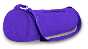 BlooM felt yoga bag - purple